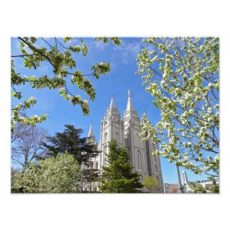 Salt Lake City LDS Temple Photo Print