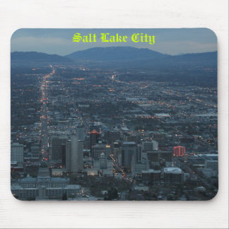 Salt Lake City Mouse Pads