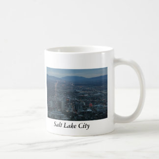 Salt Lake City Classic White Coffee Mug