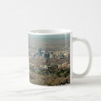 Salt Lake City Panoramic View Coffee Mug