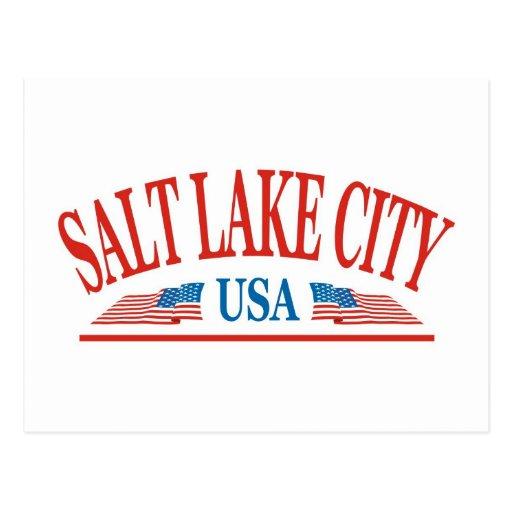 Salt Lake City Post Card