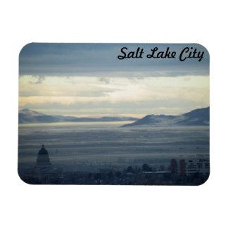 Salt Lake City Rectangle Magnet
