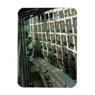 Salt Lake City Public Library Rectangular Photo Magnet