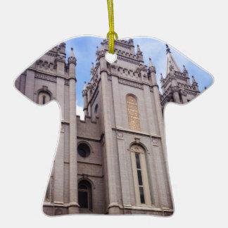 Salt Lake City Temple Ceramic T-Shirt Decoration