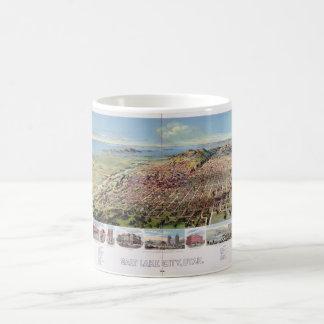 Salt Lake City, Utah (1891) Basic White Mug