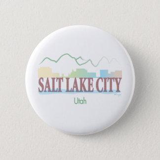 Salt Lake City,Utah 6 Cm Round Badge