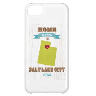 Salt Lake City, Utah Map – Home Is Where iPhone 5C Cases