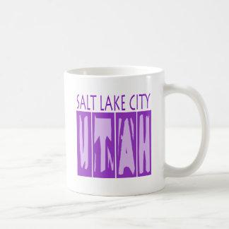 SALT LAKE CITY UTAH COFFEE MUG