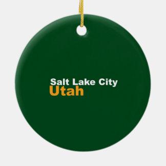 Salt Lake City, Utah Ornament