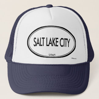 Salt Lake City, Utah Trucker Hat