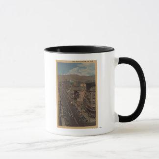Salt Lake City, Utah - View of Main St. Mug