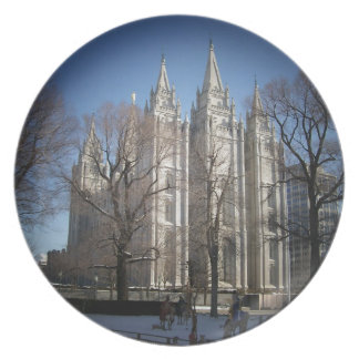 Salt Lake Temple Plate