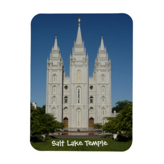 Salt Lake Temple (Salt Lake City, Utah) Rectangular Photo Magnet