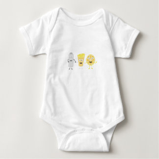 Salt, lemon and tequila baby bodysuit