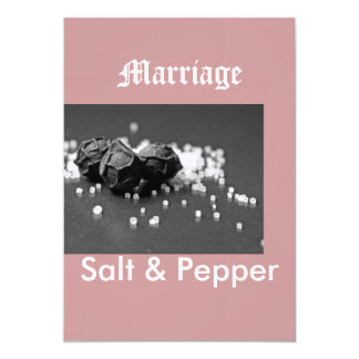 Salt & Pepper Invitations