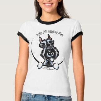 Salt Pepper Schnauzer IAAM T-Shirt