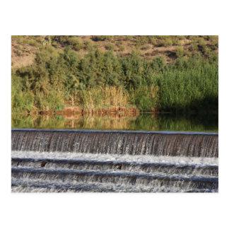 Salt River Diversion Dam Postcard