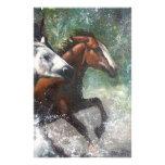 Salt River Wild Horses Stationery Paper