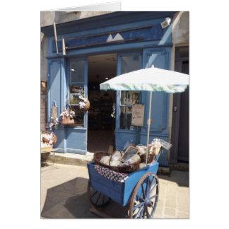Salt shop Ile de Re, France Greeting Card