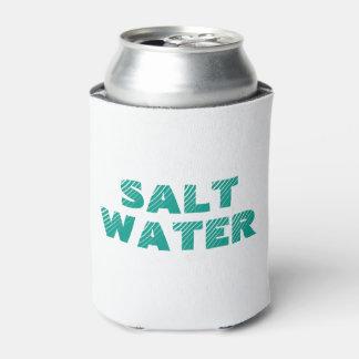 Salt Water Beach Can Cooler