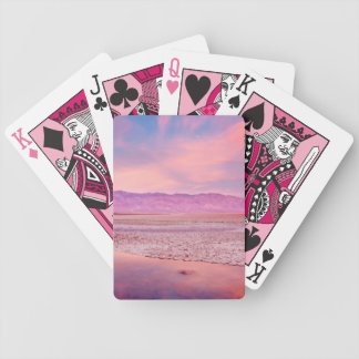 Salt Water Lake Death Valley Bicycle Playing Cards