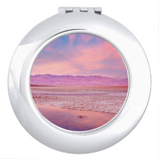 Salt Water Lake Death Valley Compact Mirrors