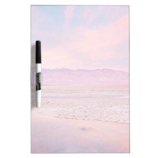 Salt Water Lake Death Valley Dry Erase Board