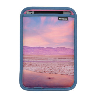 Salt Water Lake Death Valley iPad Mini Sleeve