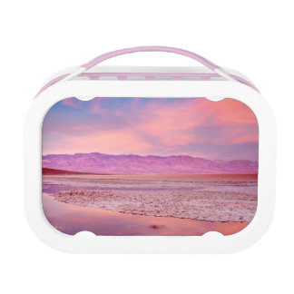 Salt Water Lake Death Valley Lunch Box