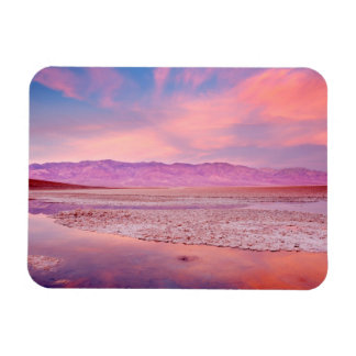 Salt Water Lake Death Valley Magnet