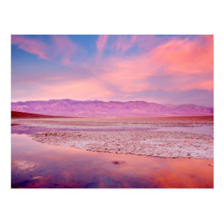 Salt Water Lake Death Valley Postcard