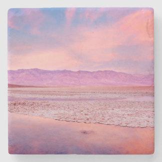 Salt Water Lake Death Valley Stone Coaster