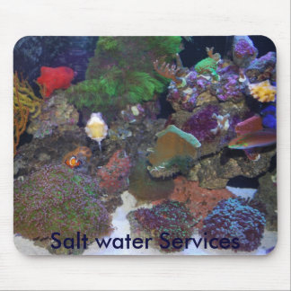 Salt water Services mouse pad