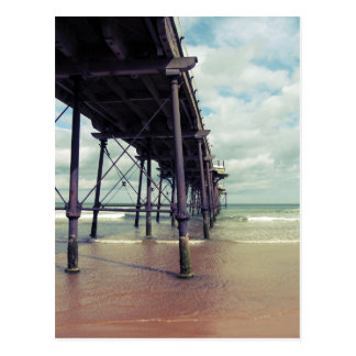 Saltburn-by-the-sea pier postcard