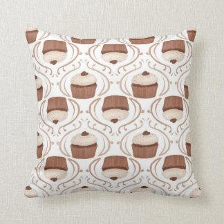 Salted Caramel Chocolate Cupcake Pillow