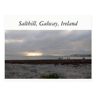 Salthill, Galway, Ireland Postcard