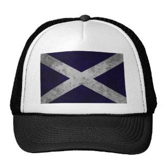Saltire Grunge Mesh Hats
