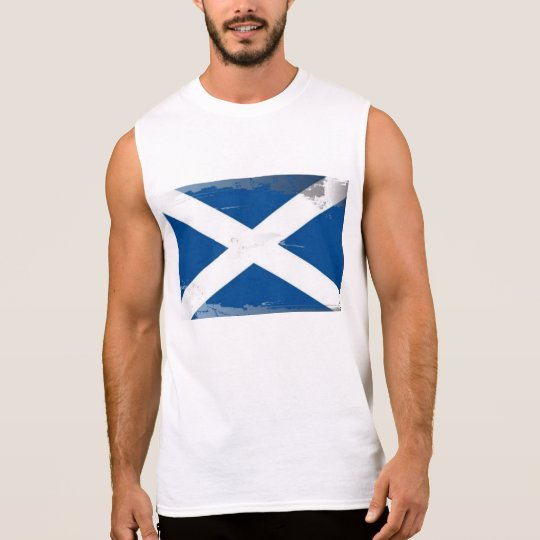 Saltire Sleeveless Shirt