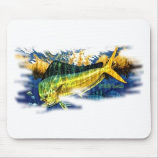 Saltwater Collection by FishTs com Mouse Mats