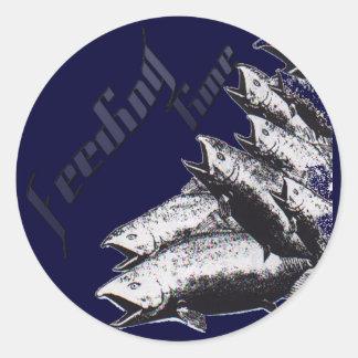 SaltWater Collection Round Sticker