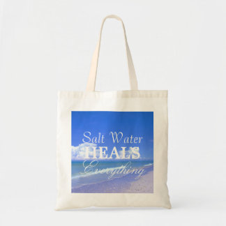Saltwater Heals Everything Budget Tote Bag