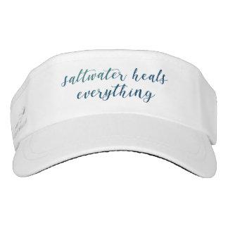 Saltwater Heals Everything | Visor