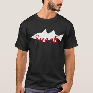 saltwater snook fishing angler fishermens t shirt. T-Shirt