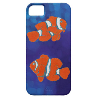 saltwater tropical clown fish barely there iPhone 5 case