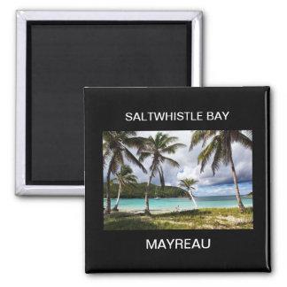 Saltwhistle Bay, Mayreau, Caribbean Island Magnet