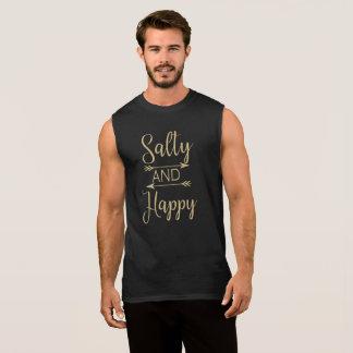 Salty and Happy Beach Ocean Summer Tank