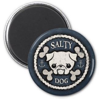 Salty Dog -bd 6 Cm Round Magnet