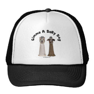 Salty Dog Salt and Pepper Dogs Hats