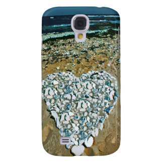 Salty Heart in Rocks iPhone Case Galaxy S4 Cases