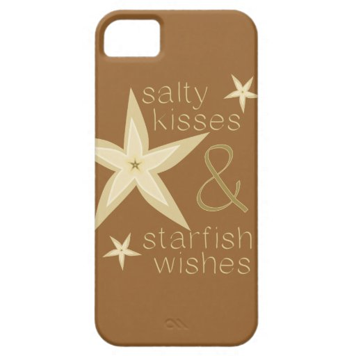 Salty Kisses Starfish Wishes Case For iPhone 5/5S